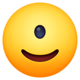 Emoji (Face with one-eye — cyclop)