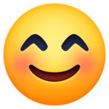 😊 Emoji (Smiling face with smiling eyes)