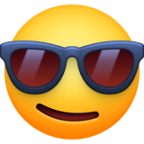 😎 Emoji (Smiling face with sunglasses)