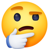 🤔 Emoji (Thinking face)