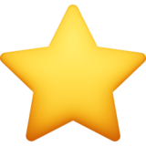 ⭐ Emoji (Medium star)